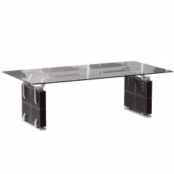 Conference Table Verona in black