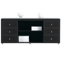 Office Cabinet Padova black